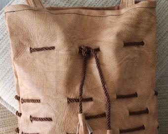 Shoulder Bag // Handmade // Lady Bag // Bucket Bag