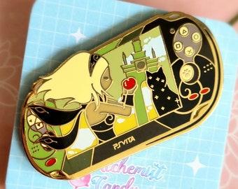 Handheld Console 'Hekseville' Hard Enamel Pin