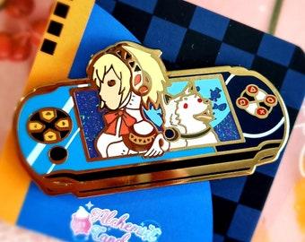 Handheld Console 'Tartarus' Enamel Pin