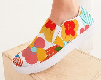 Women's Slip-On Canvas Shoe SummerFlowers