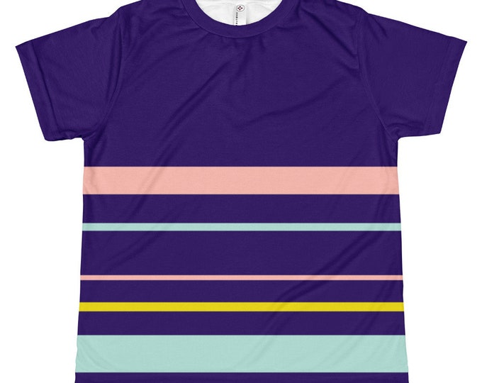 Kids Navy Striped T-shirt