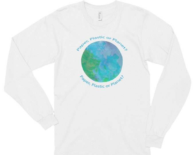 Earth Day Long Sleeve Tee Shirt