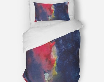 Twin Duvet Cover Set, Abstract Duvet Cover, Teens room decor