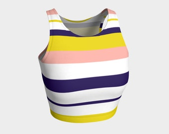 Summer Stripes Crop Top