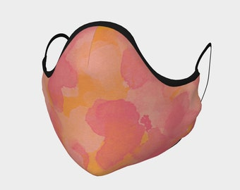 Pink Punch Face Mask, Washable, Cloth Face Mask