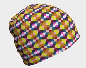 Argyle Beanie, Beanies for Men, Women, Children and Infants