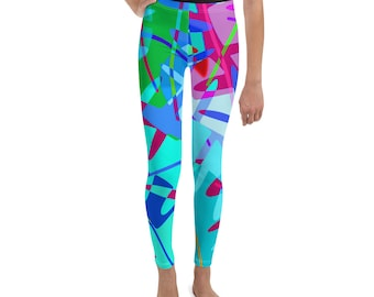 Tropical Punch Girls Leggings