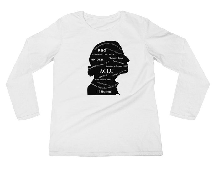 RBG Tee Shirt in Black and White