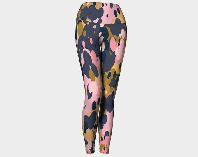 Splatter Yoga Pants