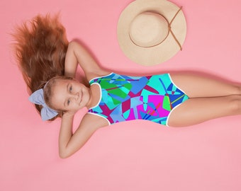 Girls Tropical Punch Swimsuit