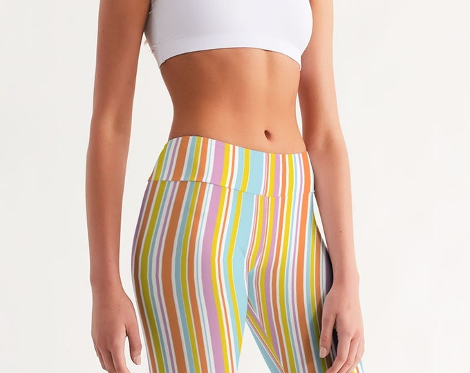 Featured listing image: Women's Mid-Rise Bike Shorts SummerStripes