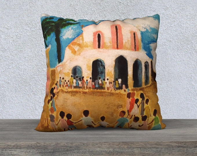 Niños del mundo Pillow Cover 22x22