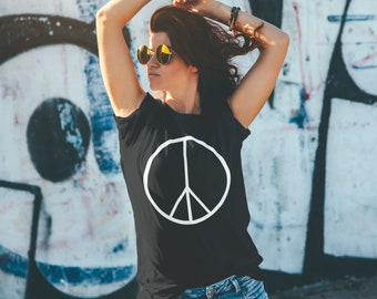 Peace Sign Unisex T-shirt for women and men