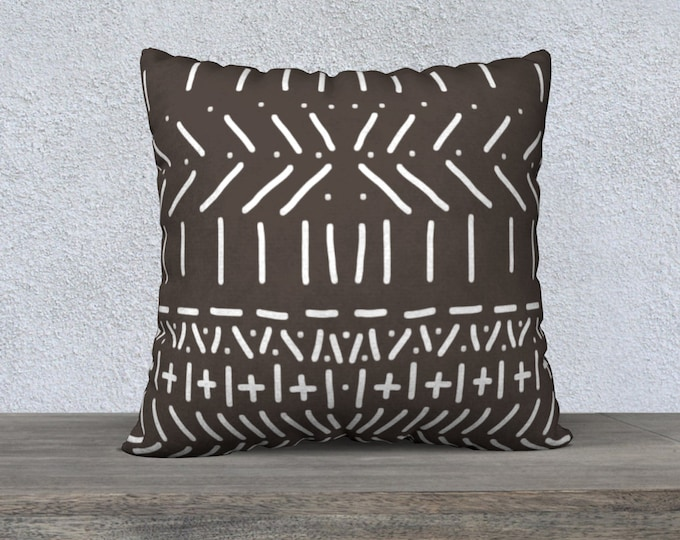 Mud Cloth Pillow Cover, Throw Pillow, Sofa Pillows