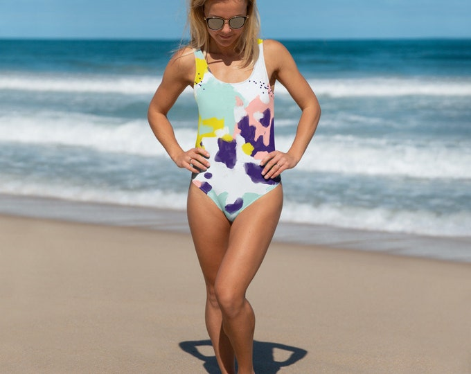 Funky Time One-Piece Swimsuit
