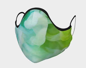 Colorful Clouds Face Mask, Washable, Cloth Face Mask