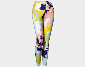 Abstract Yoga Leggings/Yoga Pants for Women