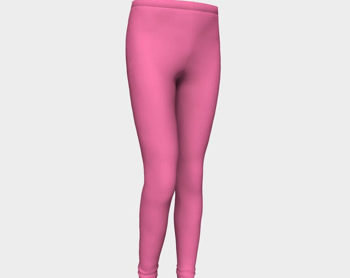 Girls Leggings, Pink Bubble Gum Leggings, Girls Yoga Leggings, Leggings, Girls Clothes, Back to School Leggings, Girls Yoga Pants