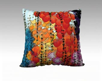 Flower Garden Pillow Cover