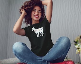 Goat Yoga Women's T-Shirt, Tee shirt for women, Women's T-Shirt