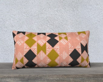Tribal Design Long Pillow Case