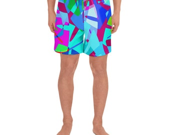 Tropical Punch Men's Swim Trunks/Athletic Shorts