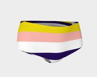 Summer Stripes Bikini Bottoms