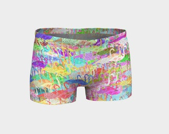 Flamingo Mania Shorts