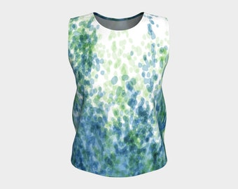 It's Raining Tank Top, Loose Fit Tank Top, Tank Top, Women's Tank Top, Tops, Women's Tops, Relaxed Fit Tank