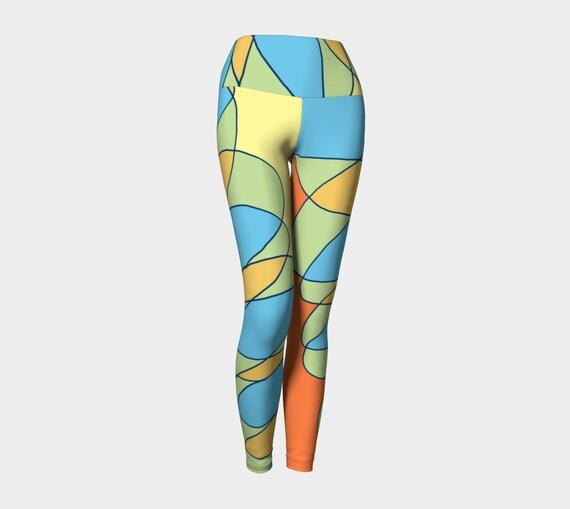 Scribbler Yoga Leggings
