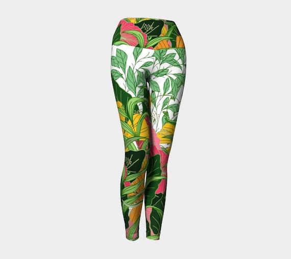 Poppy Flower Women's Yoga Leggings