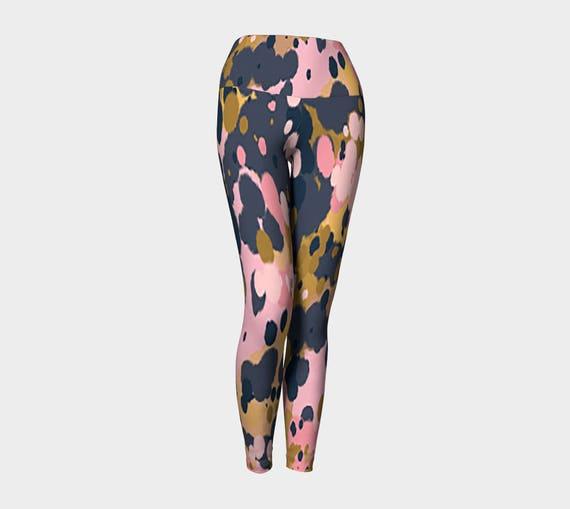 Splatter Yoga Pants