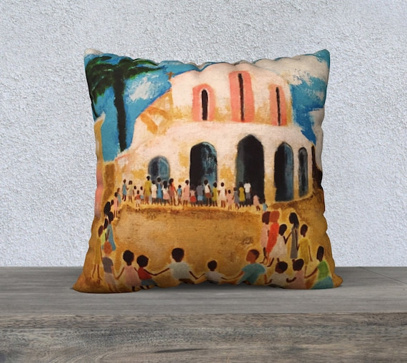 Niños del mundo Pillow Cover 22x22