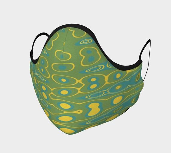 Gecko Face Mask, Washable, Cloth Face Mask