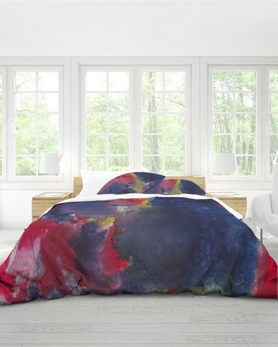 Queen Duvet Cover Set, Abstract Duvet Cover