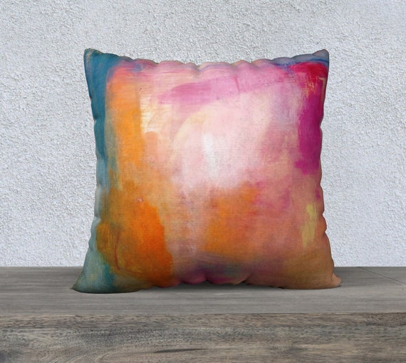 Holi pillow cover