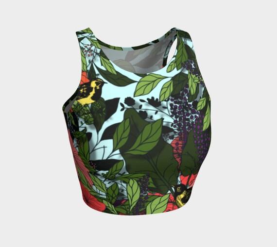 Exotic Garden Crop Top