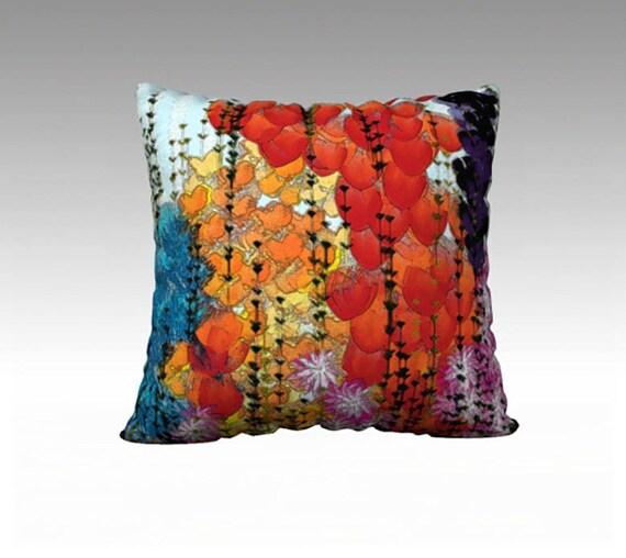 Flower Garden Pillow Cover