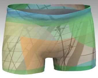 Architectural Graphics Yoga Shorts, Graphics Boy Shorts, Women's Shorts, Yoga Shorts, Swim Shorts, Athletic Shorts, Running Shorts