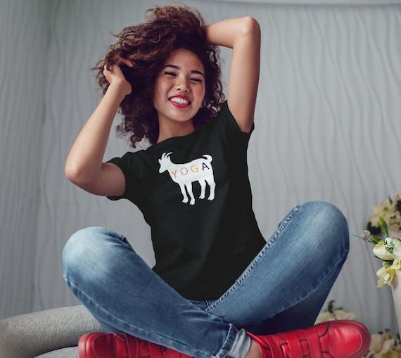 Goat Yoga T Shirt