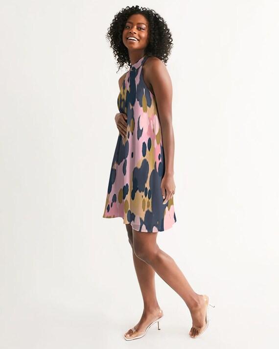 Fashionista Women's Halter Dress