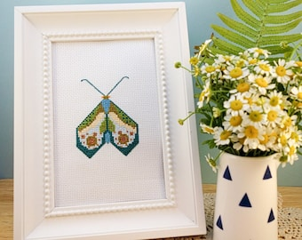 Moth and Butterfly Cross Stitch