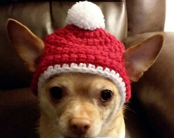 Christmas Hats For Dogs.Dog Christmas Hat Etsy