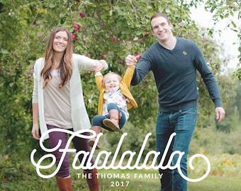 Photo Christmas Card, Holiday Card, Modern Christmas Card, Family Christmas Card, Holiday Greeting Card: PRINTABLE