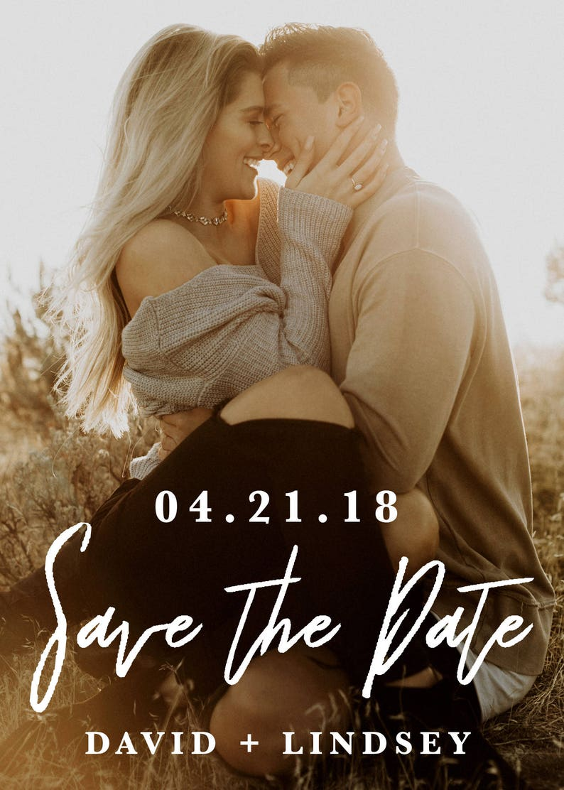 Save the Date Printable Save the Date Calligraphy Save the Date Wedding Invitation Save the Date Card Wedding Save the Date