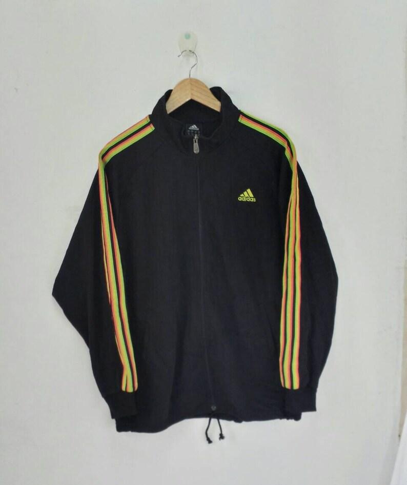 adidas rainbow jacket