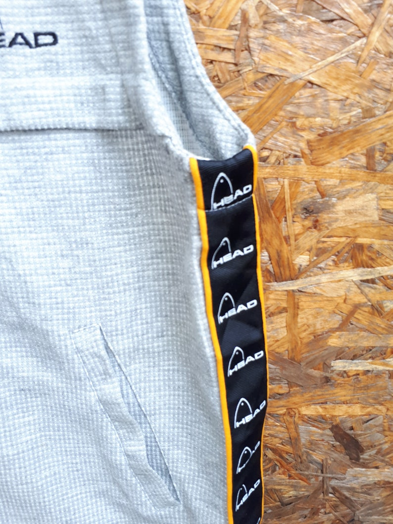 HEAD Sleeveless Sweatshirt Jacket  Fishing Gear  Sport Casual shirt Size L