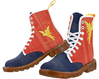 Golden Grain Boots RED