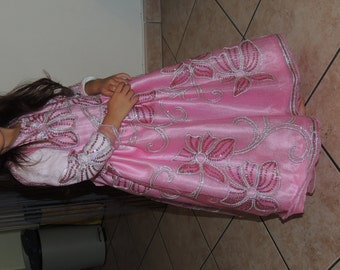 Pink costume dress size 4 years