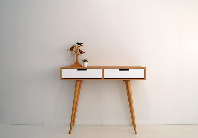 Moderne mid century dressing tisch konsole sideboard mit etsy